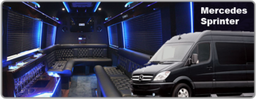 Rent a Mercedes Sprinter with driver in Las Vegas