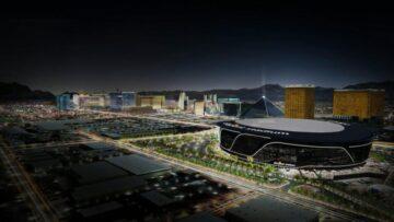 Allegiant Stadium construction update